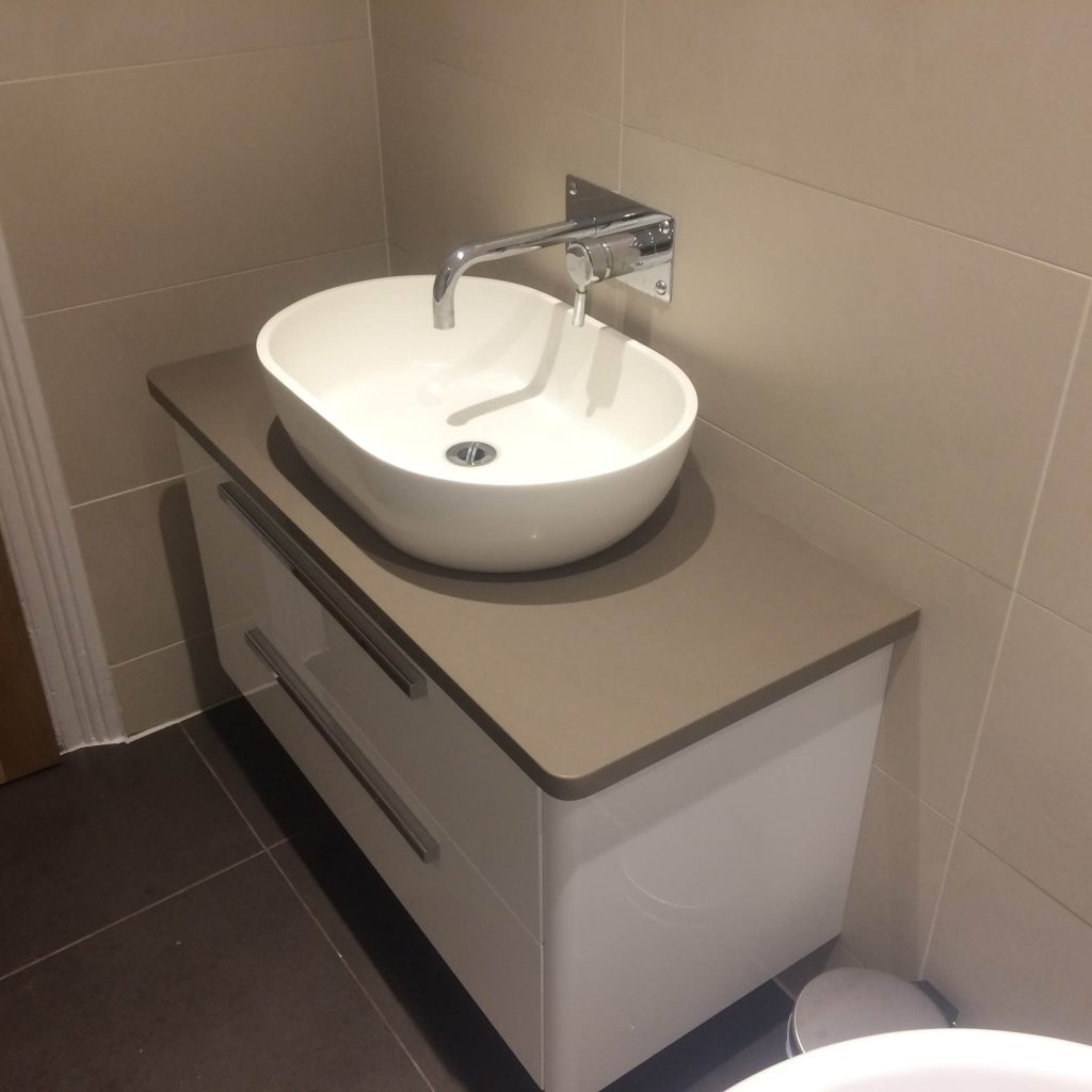 Modern bathroom installation Lewisham