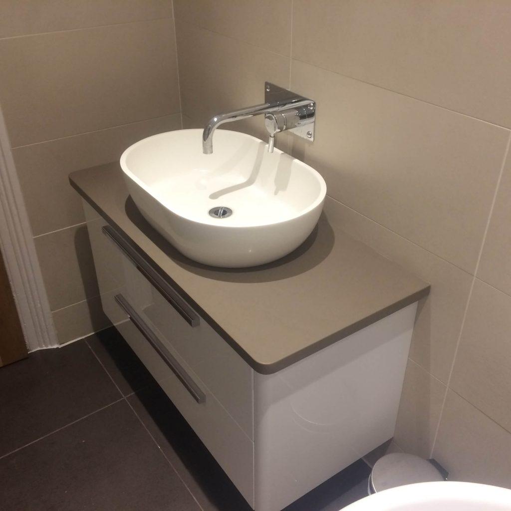 Modern bathroom installation Lewisham