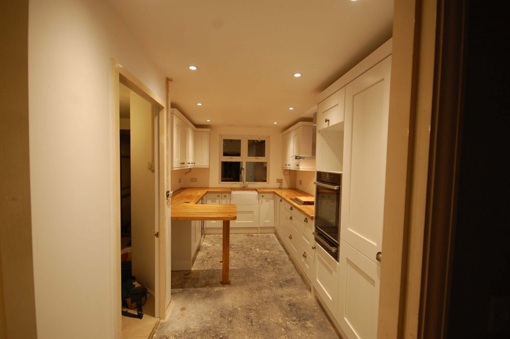 Noak Bridge - Kitchen- Before